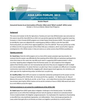 AFOLU session summary report Final.pdf
