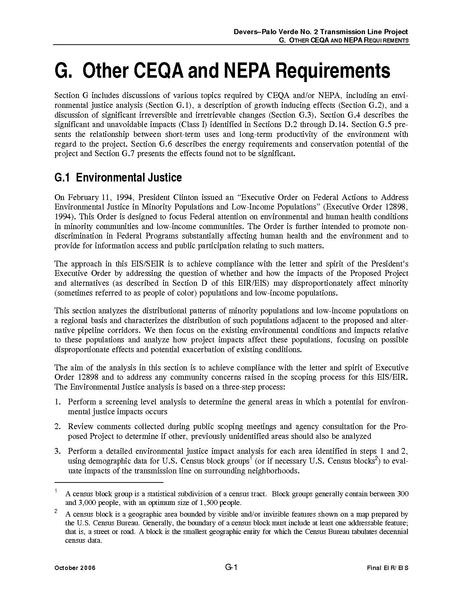File:Devers Palo Verde No2-FEIS G Other CEQA and NEPA Requirements.pdf