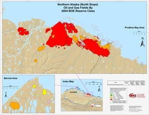 Alaskan North Slope By 2001 BOE Reserve Class
