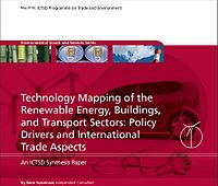 Technology Mapping of the Renewable Energy, Buildings and Transport Sectors: Policy Drivers and International Trade Aspects Screenshot